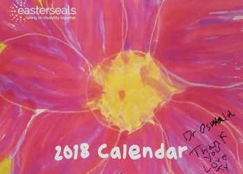 POA Patient Designs Cover for National Calendar